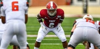 Troy linebacker Carlton Martial is one of college football's best kept secrets
