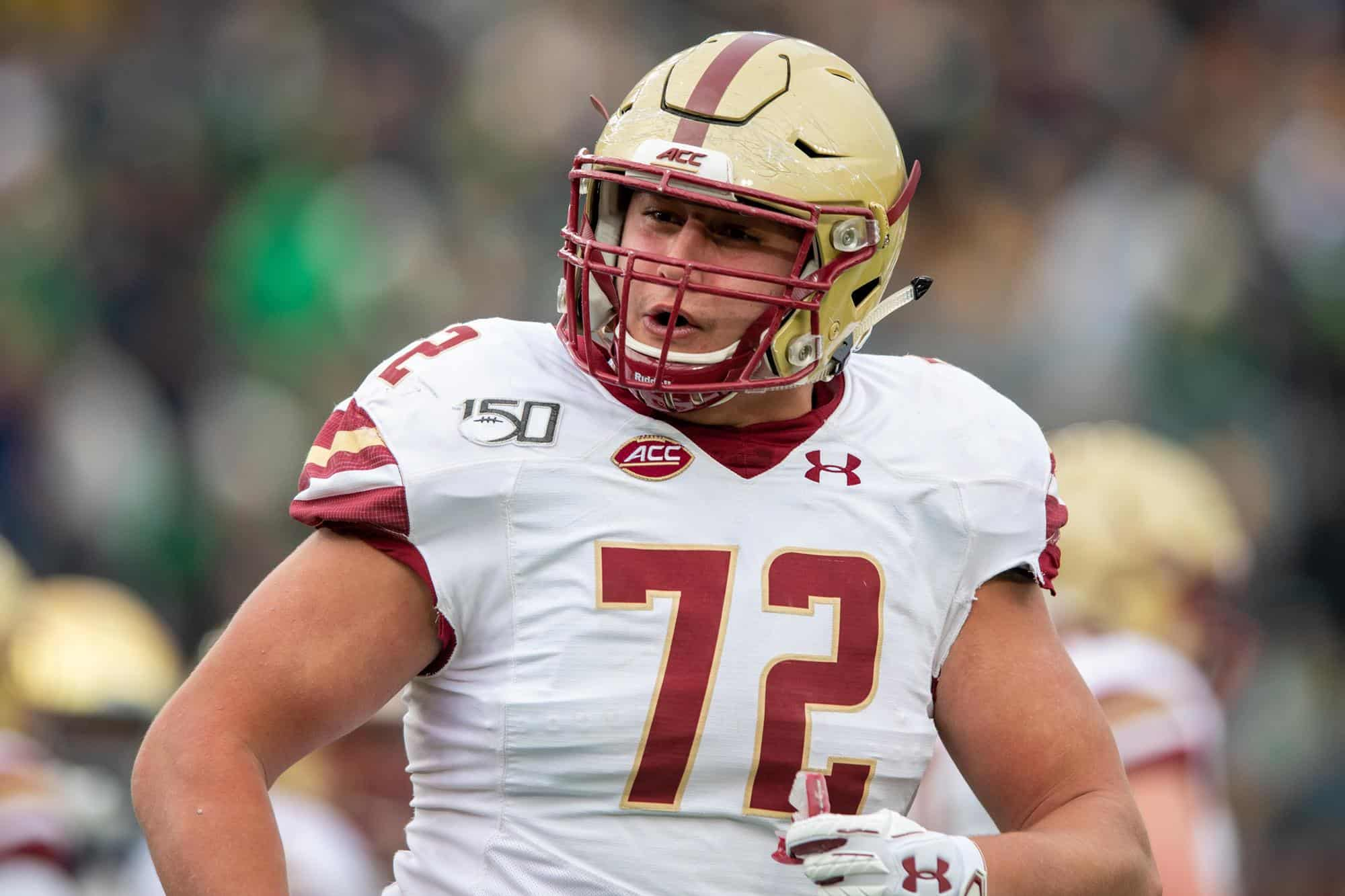 Can center Alec Lindstrom continue Boston College offensive line legacy?