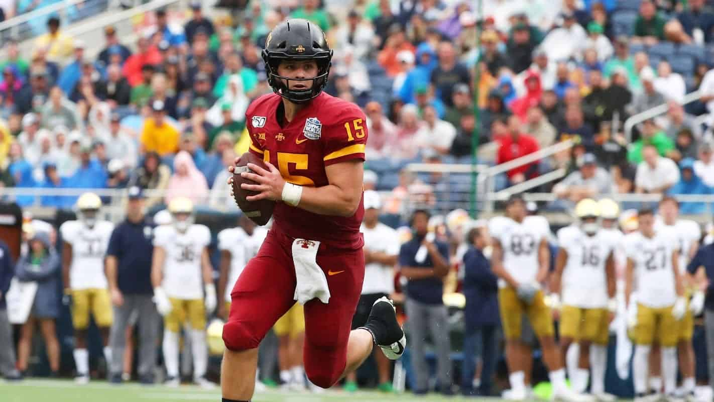 Candidates for the QB3 title in the 2021 NFL Draft