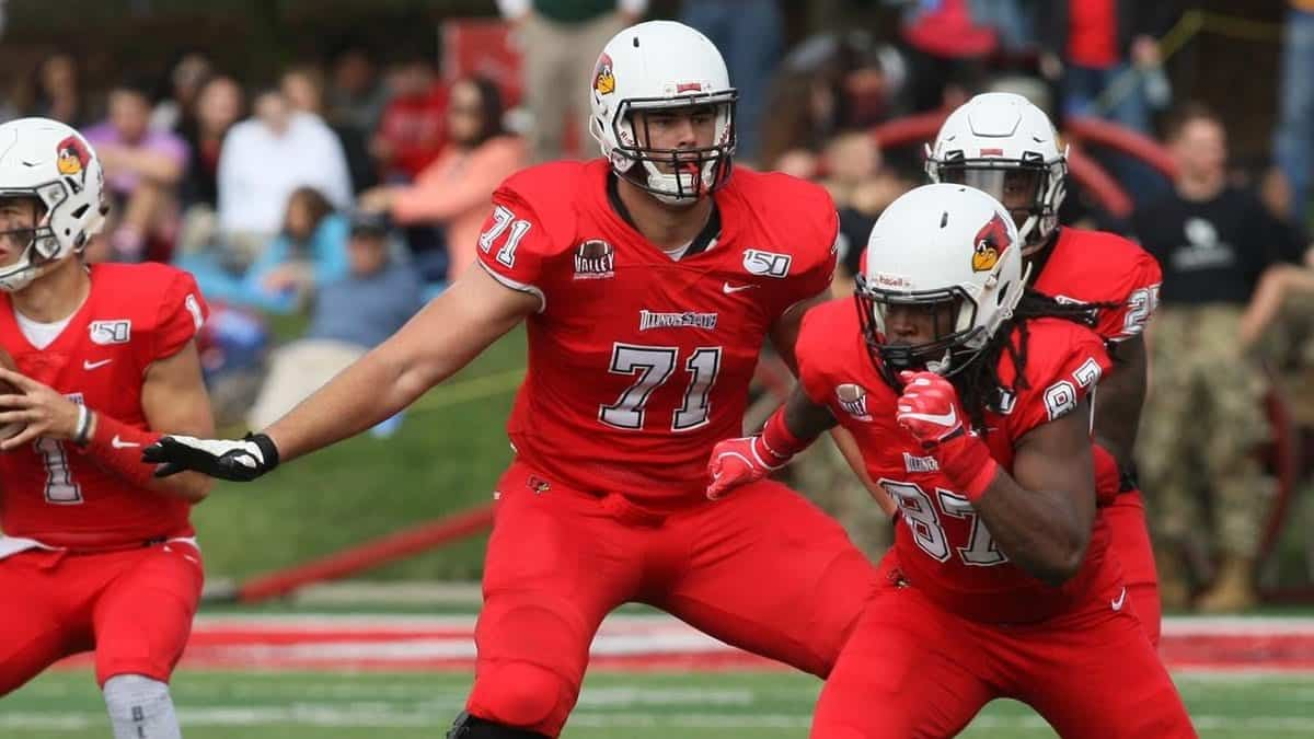 Illinois State offensive tackle Drew Himmelman an FCS gem in 2020