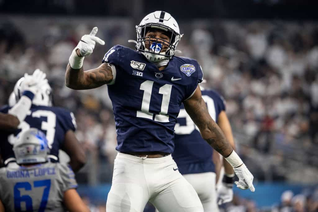 Cummings' 3-round 2021 NFL Mock Draft