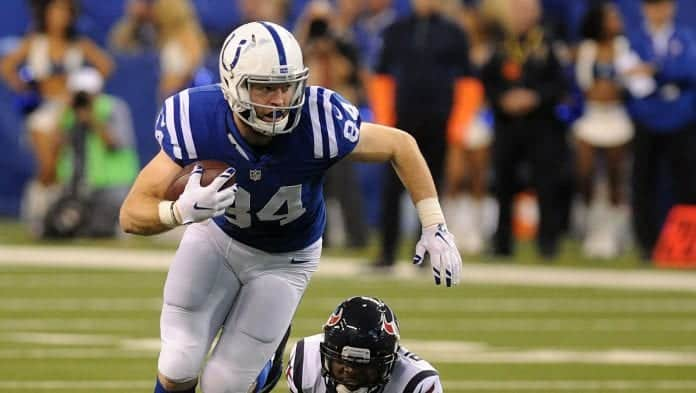 Jack Doyle is one of the best value tight ends in dynasty in 2020