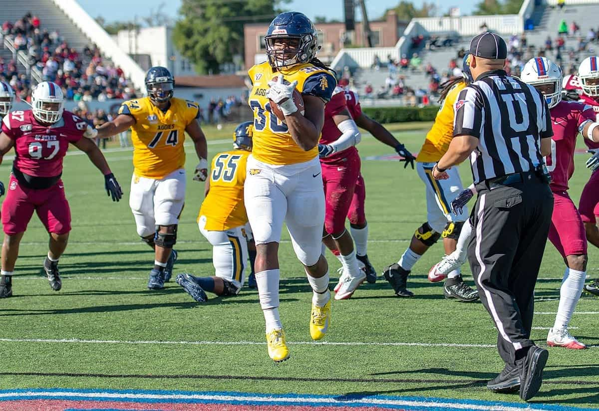 NC A&T running back Jah-Maine Martin is a diamond in the rough