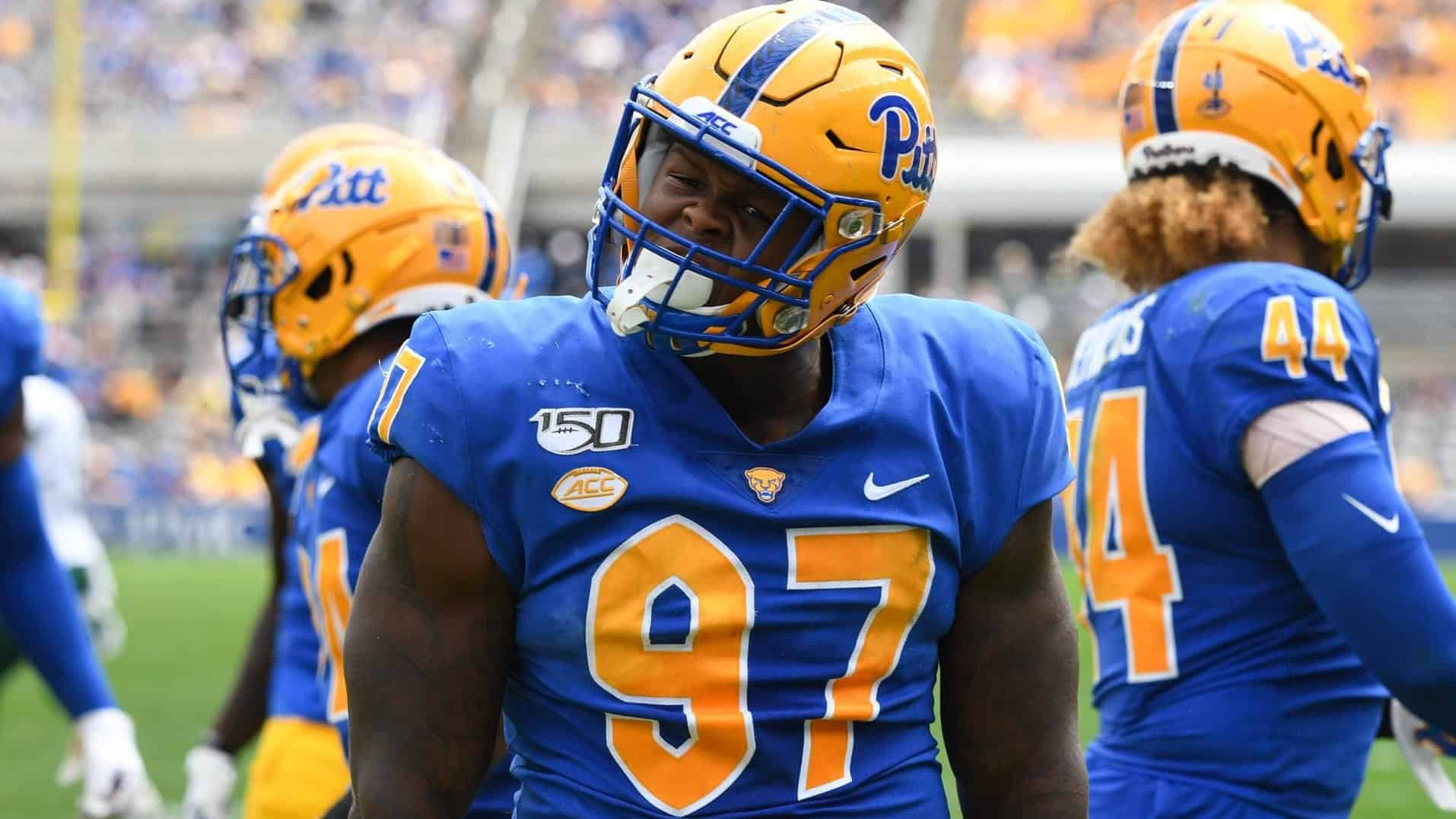 The Pitt Panthers boast the country's most complete defensive line