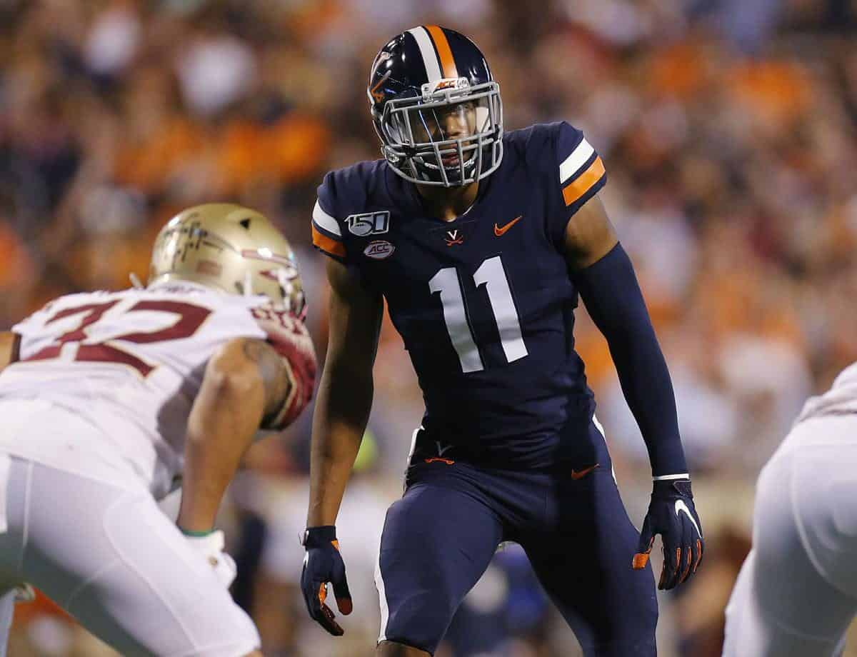 Virginia linebacker Charles Snowden a modern-age defensive catalyst