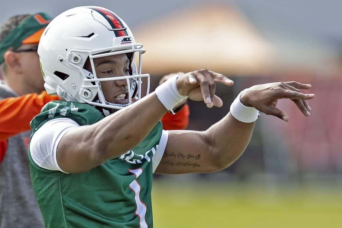 Three reasons transfer DEriq King is Miami's best QB prospect in years