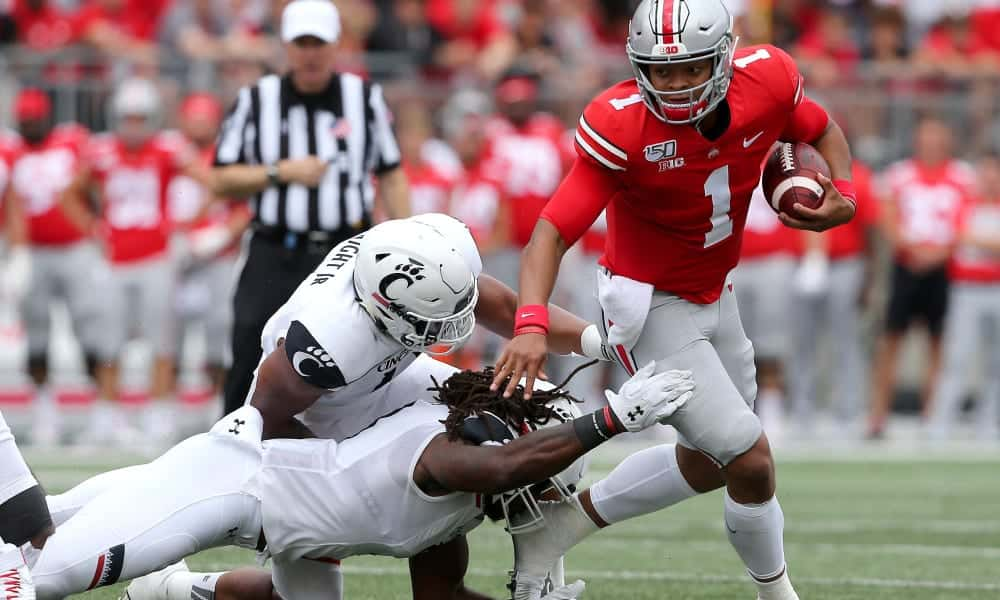 Quarterback Charting: Can Buckeye's quarterback Justin Fields be the first pick?