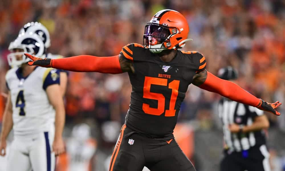 Mack Wilson's injury thins Browns linebacker depth even more