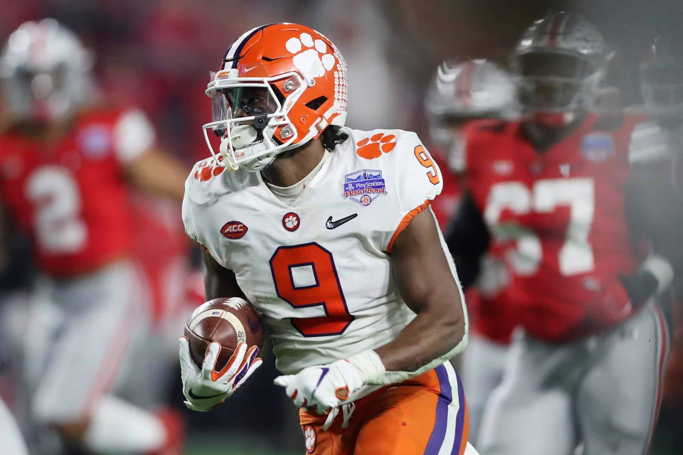 Three reasons why Travis Etienne's best comparison is Dalvin Cook
