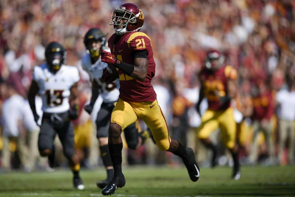 USC wide receivers St. Brown, Vaughns have NFL potential in 2020