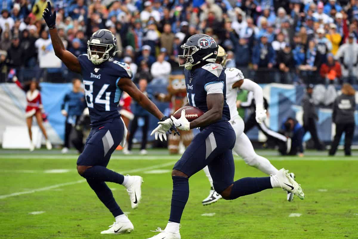 Which Titans receiver is most likely to exceed expectations in 2020?