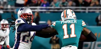 How well did DeVante Parker play in Week 17 of the 2019 season?
