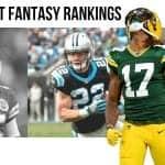 Preseason Redraft Fantasy Football 1QB & SuperFlex PPR Rankings
