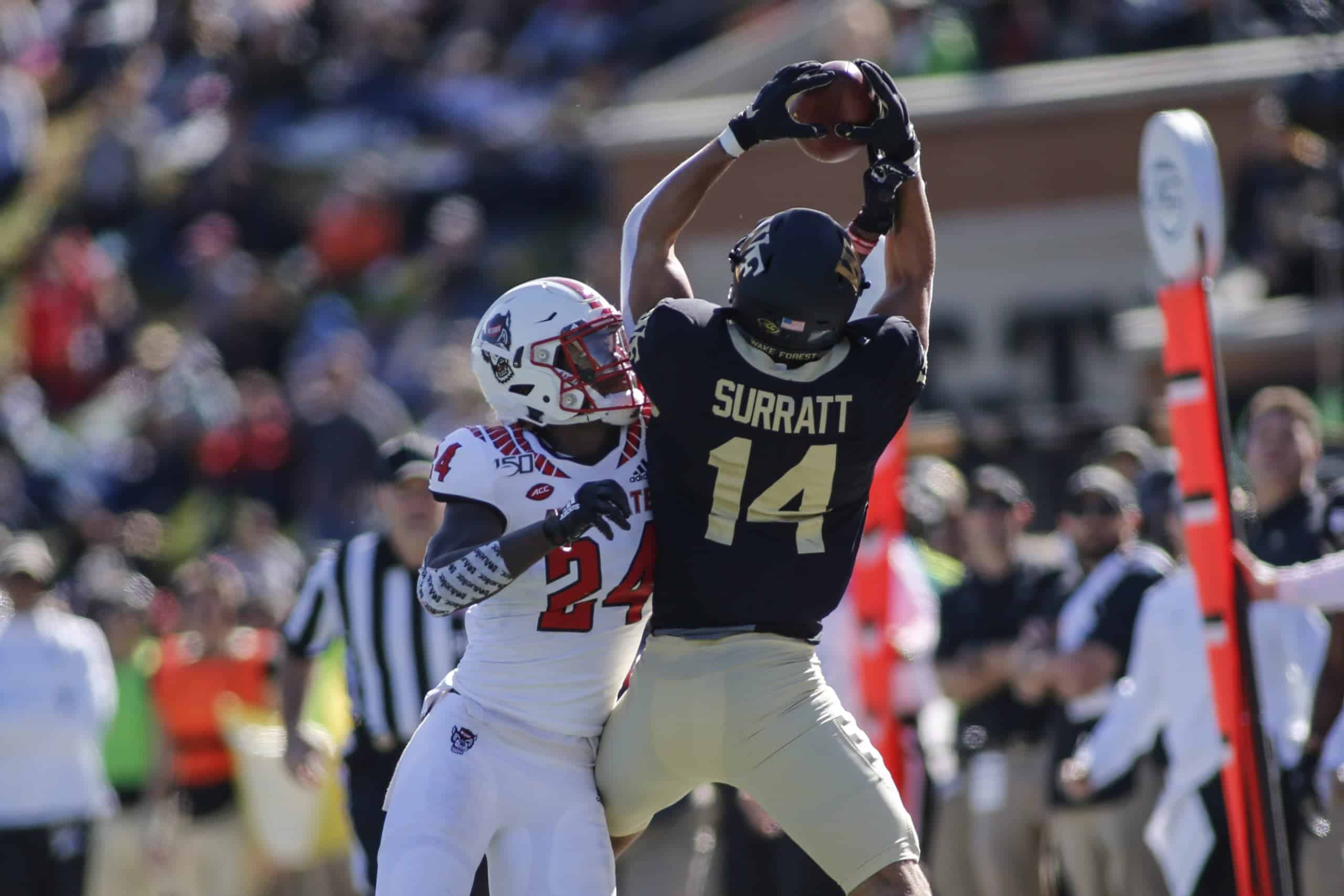 Can Wake Forest WR Sage Surratt boost his 2021 NFL Draft stock?
