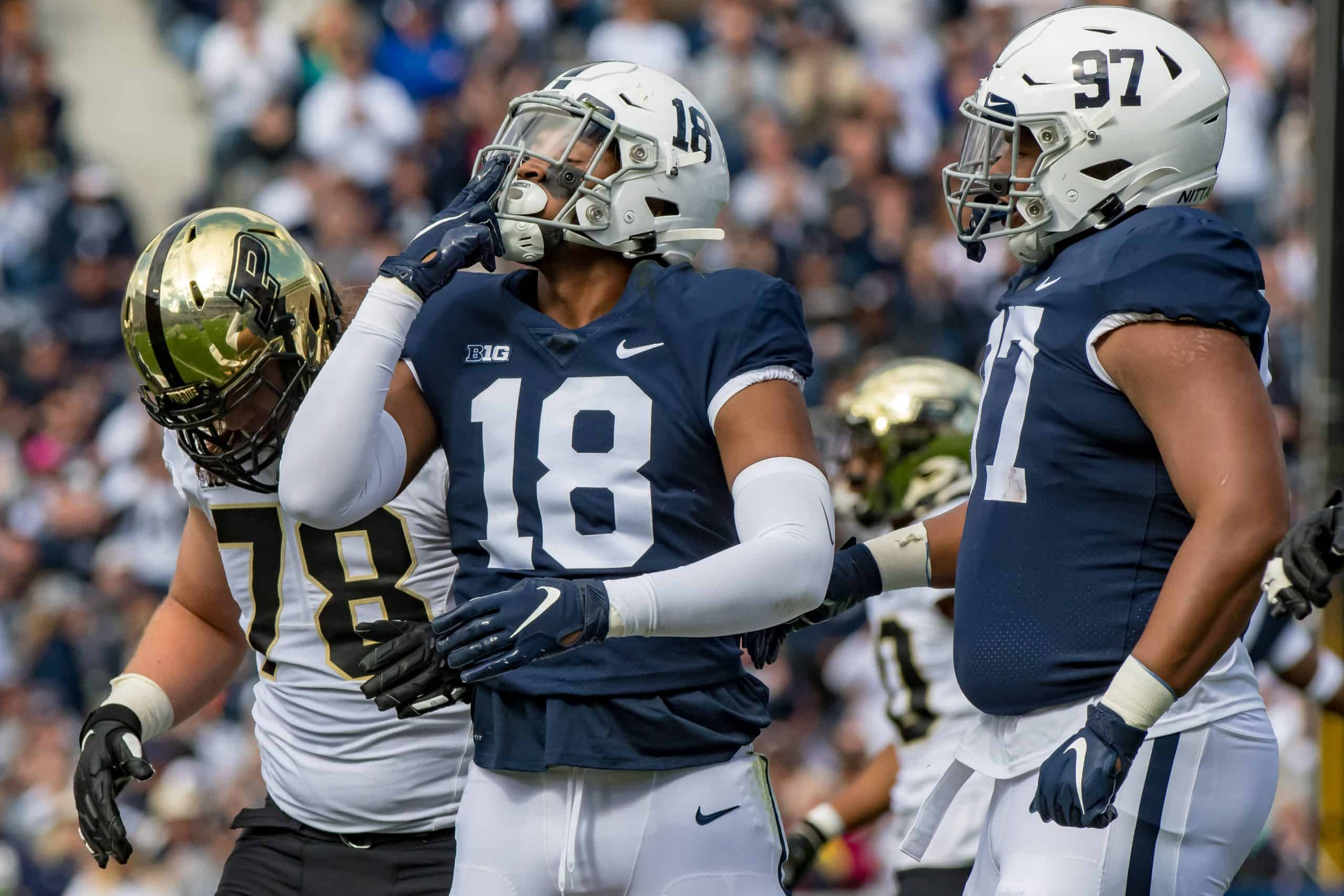 Can Penn State's Shaka Toney develop into a three-down EDGE rusher?