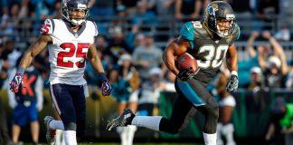 OSM Back to the Future: Former Jaguars RB Corey Grant's top-ranked performance from 2017