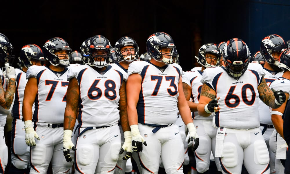 Reviewing the Denver Broncos offensive line for the 2020 season