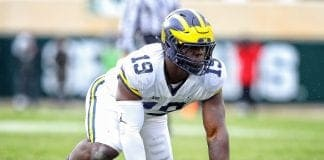 Michigan DT Kwity Paye poised to close out career in big way