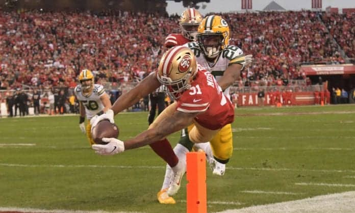 What is Raheem Mostert's value to the 49ers?