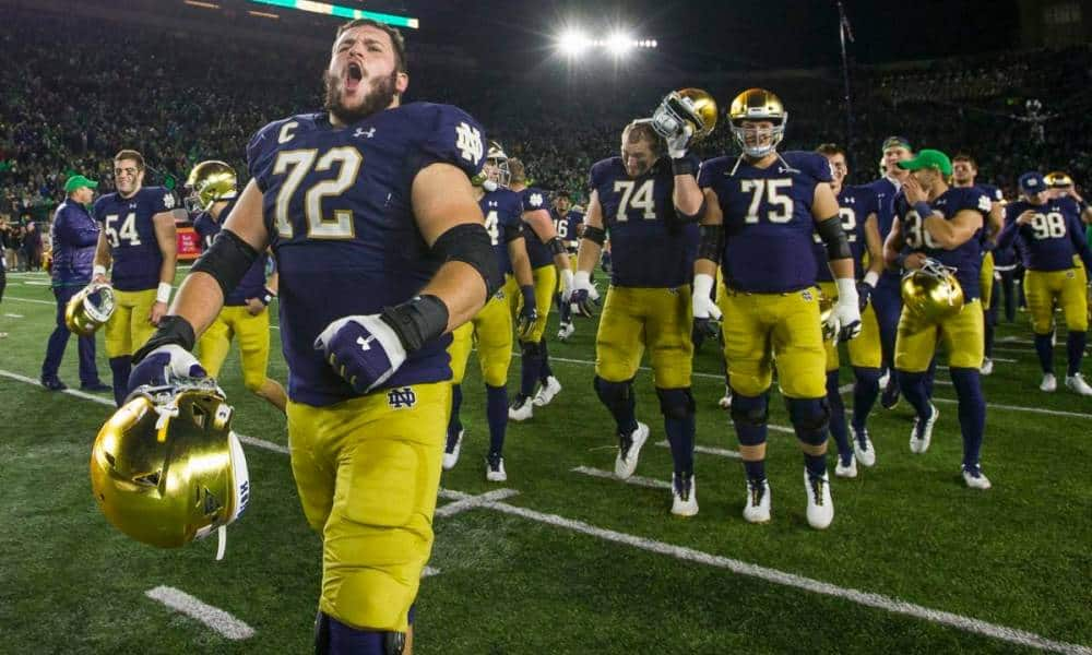 Notre Dame offensive tackles Eichenberg and Hainsey are NFL-ready