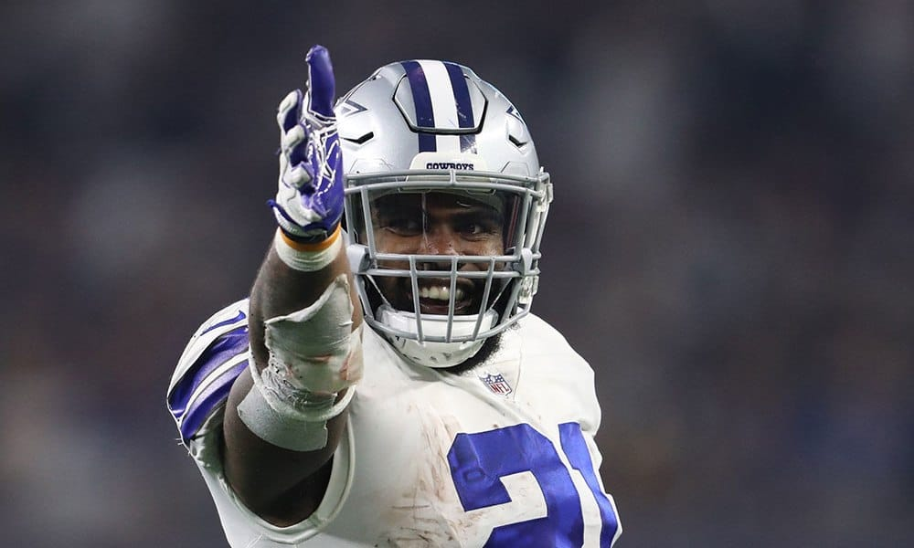 Cowboys RB Ezekiel Elliott top 5 in Williamson's 2020 rankings