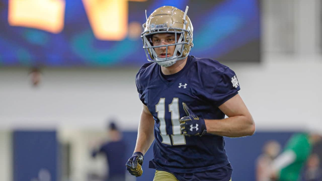 Can Notre Dame WR Ben Skowronek be the next Chase Claypool?