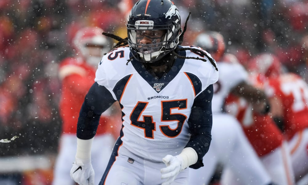 Where do the Broncos top linebackers rank for 2020?