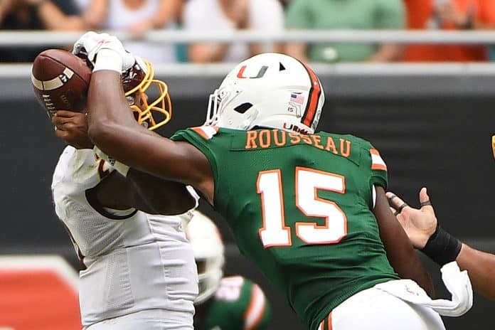 What is Gregory Rousseau's NFL Draft outlook after opting out?