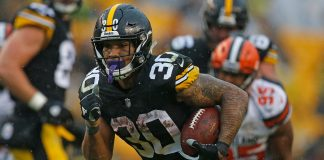 Where does Steelers RB James Conner fall in PFN's 2020 rankings?