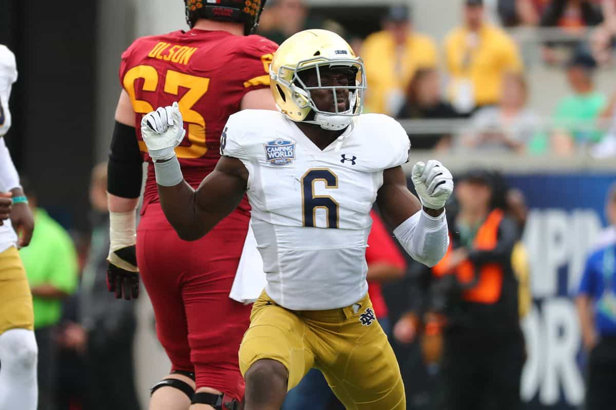 Notre Dame LB Jeremiah Owusu-Koramoah is the NFL's next star hybrid defender