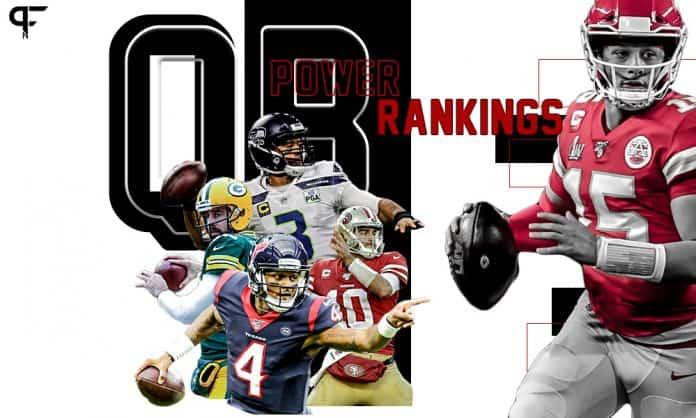 QB Power Rankings 2020: Brady, Mahomes make final push as NFL's best signal-caller