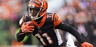 Who should be the Bengals third-string wide receiver in 2020?