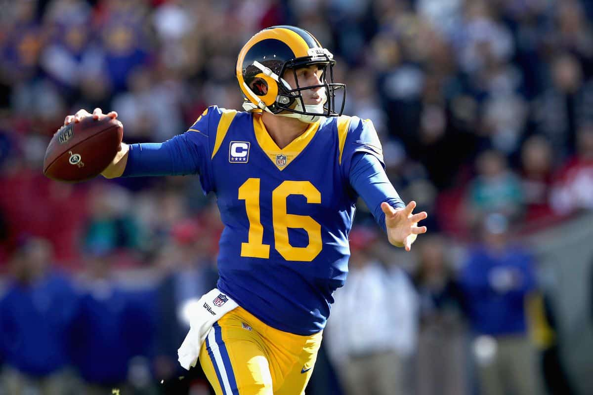 Jared Goff 2020 player props