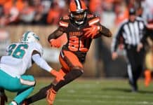 How much value will the Browns lose if Jarvis Landry misses time in 2020?
