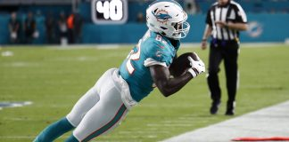 Preston Williams was the NFL's least valuable wide receiver in 2019
