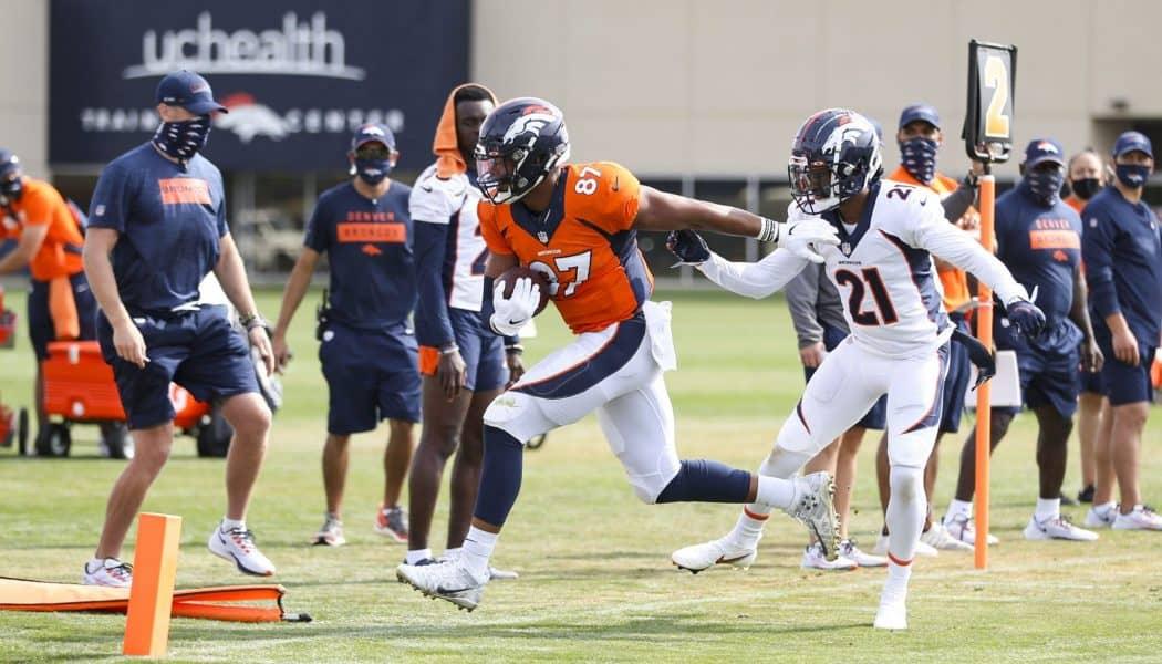 Broncos offensive depth chart 2020