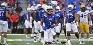 Kansas WR Stephon Robinson Jr. ready to be recognized