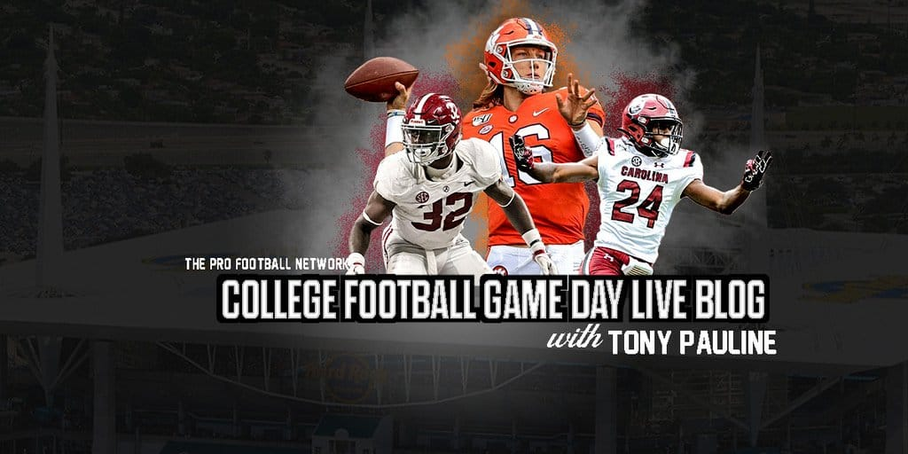 College Football Games Today: Week 2 Live Blog with Tony Pauline