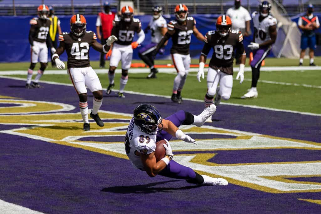 Ravens Browns takeaways week 1