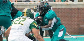 Coastal Carolina RB C.J. Marable gaining national attention in 2020