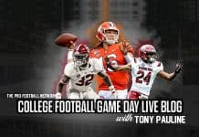College Football Games Today, Week 3 TV Schedule and Live Blog with Tony Pauline