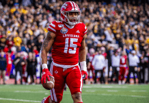Ragin' Cajun RB Elijah Mitchell leading the way for Louisiana