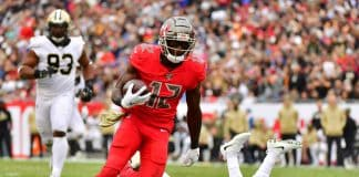 Chris Godwin's fantasy status for Week 2 in doubt?