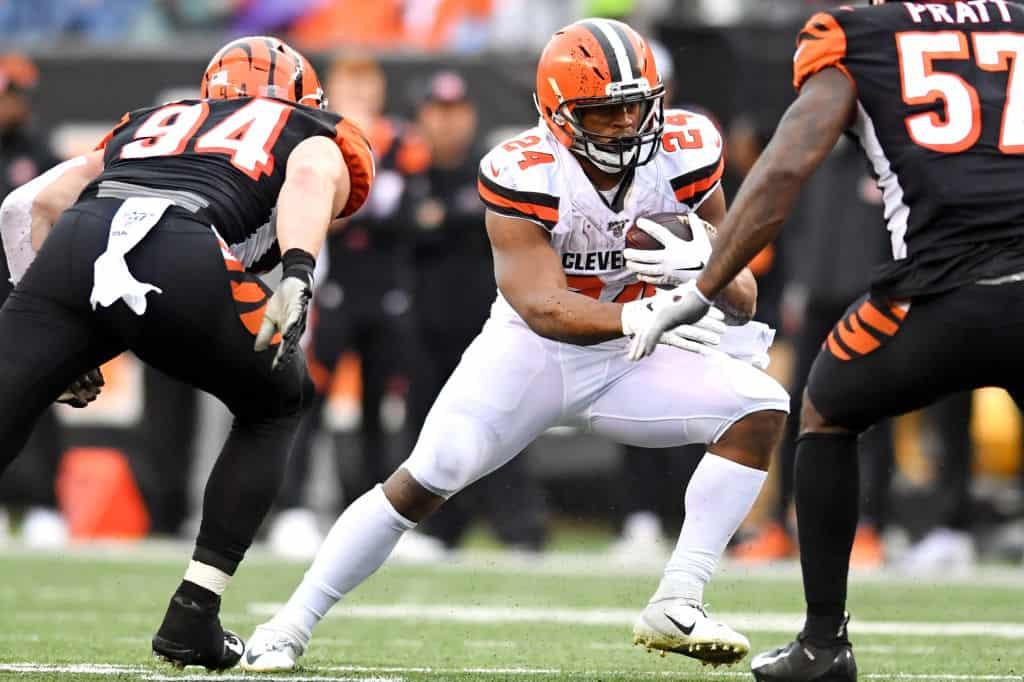 Fantasy Football: Can Nick Chubb bounce back against Cincinnati?