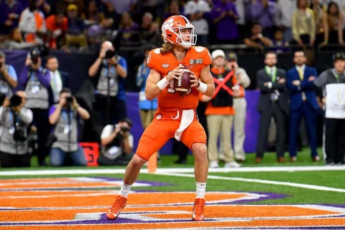 Yes, Trevor Lawrence is still QB1 in college football