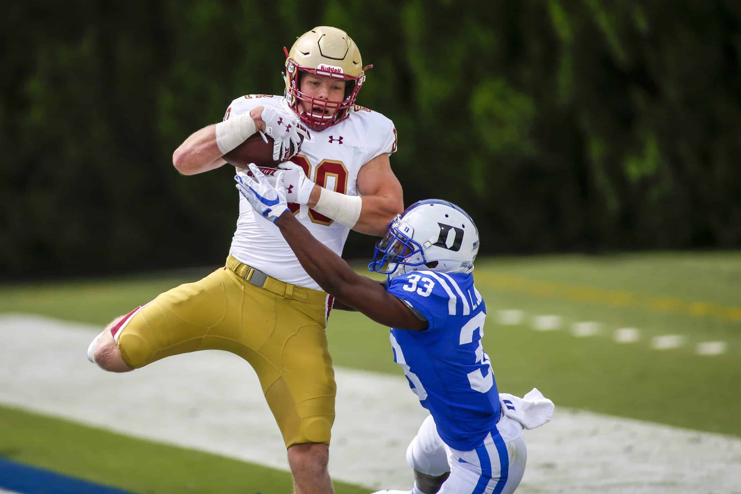 Boston College TE Hunter Long is a Top 5 2021 Tight End