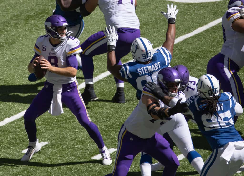 Kirk Cousins and the Vikings can't keep having days like this