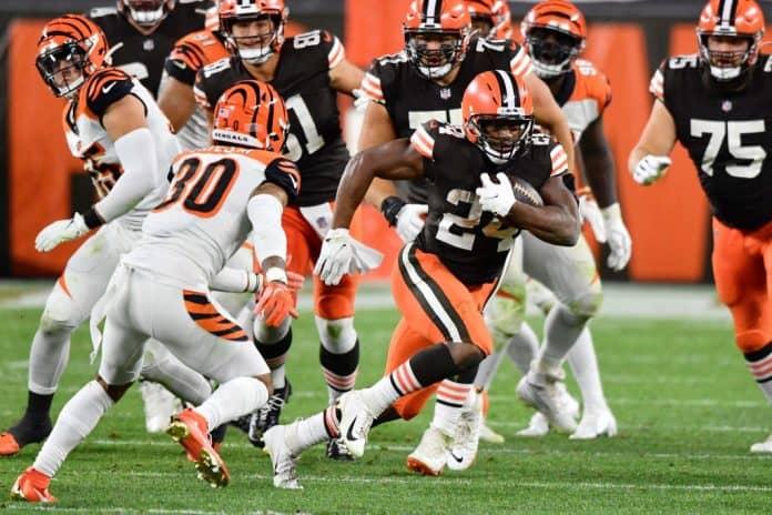 browns offensive line, washington defensive line