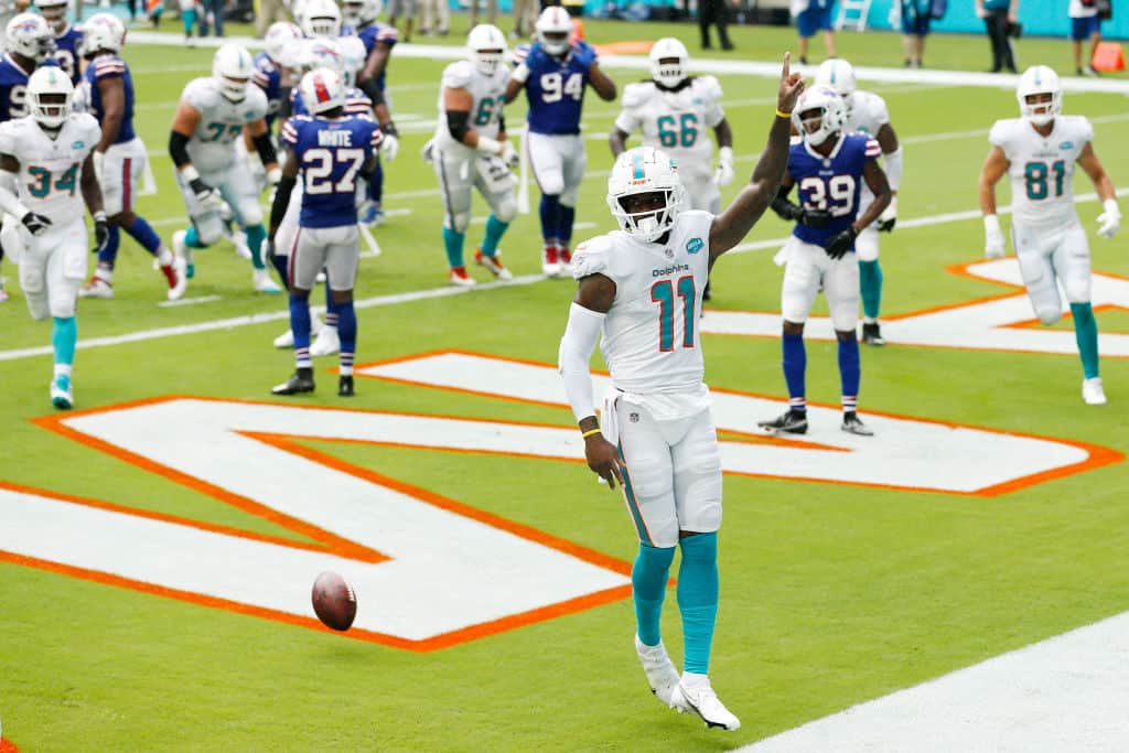 Is it safe to start Devante Parker in fantasy on Thursday Night?