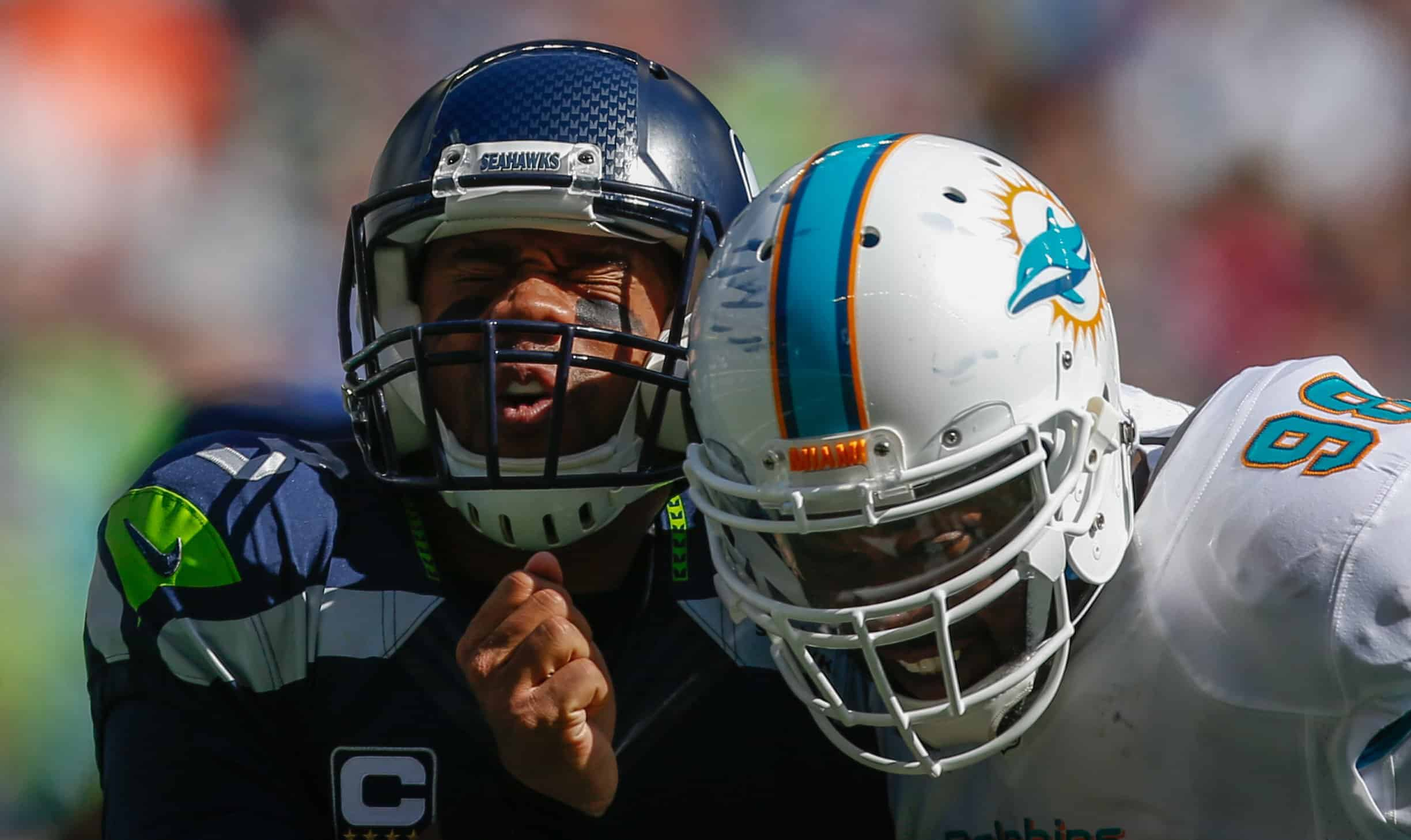 miami dolphins defense, seattle seahawks offense